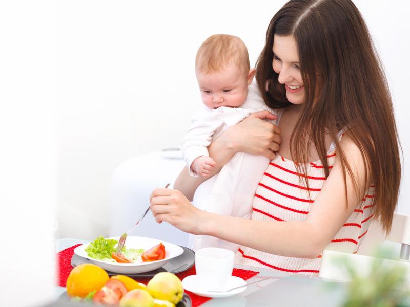 Эффективная диета для кормящей матери